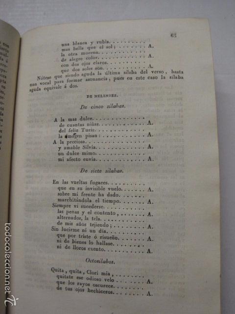 Diccionarios antiguos: DICCIONARIO DE LA RIMA LENGUA CASTELLANA- A. GRACIA- IMP. BRUSI- BARCELONA 1829-VER FOTOS - (XL-41) - Foto 5 - 57733164