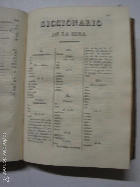 Diccionarios antiguos: DICCIONARIO DE LA RIMA LENGUA CASTELLANA- A. GRACIA- IMP. BRUSI- BARCELONA 1829-VER FOTOS - (XL-41) - Foto 6 - 57733164
