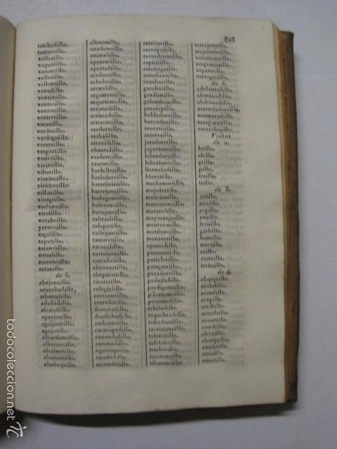 Diccionarios antiguos: DICCIONARIO DE LA RIMA LENGUA CASTELLANA- A. GRACIA- IMP. BRUSI- BARCELONA 1829-VER FOTOS - (XL-41) - Foto 10 - 57733164