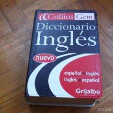 Diccionarios antiguos: DICCIONARIO INGLÉS COLLINS. Lote 58060841