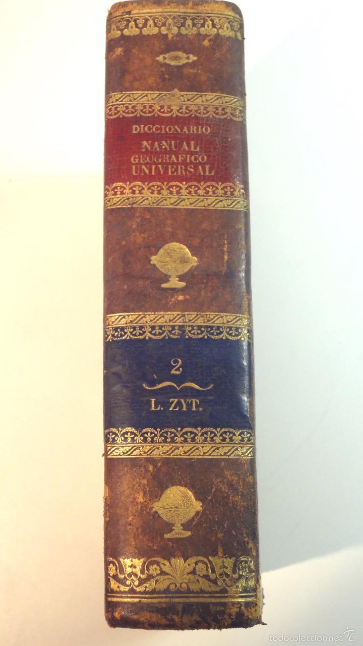 NUEVO DICCIONARIO GEOGRAFICO MANUAL-TOMO II-MALTE BRUN-1832 (Libros Antiguos, Raros y Curiosos - Diccionarios)