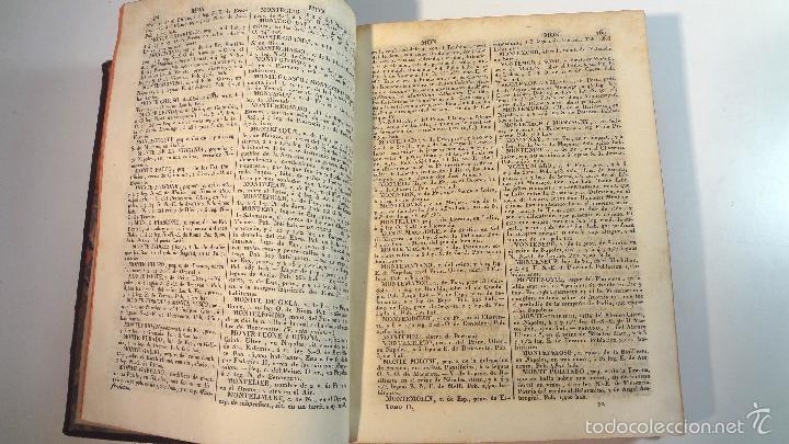 Diccionarios antiguos: NUEVO DICCIONARIO GEOGRAFICO MANUAL-TOMO II-MALTE BRUN-1832 - Foto 4 - 58755235