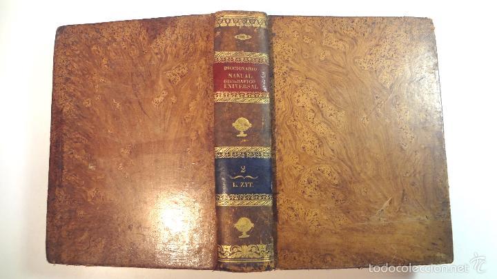 Diccionarios antiguos: NUEVO DICCIONARIO GEOGRAFICO MANUAL-TOMO II-MALTE BRUN-1832 - Foto 5 - 58755235