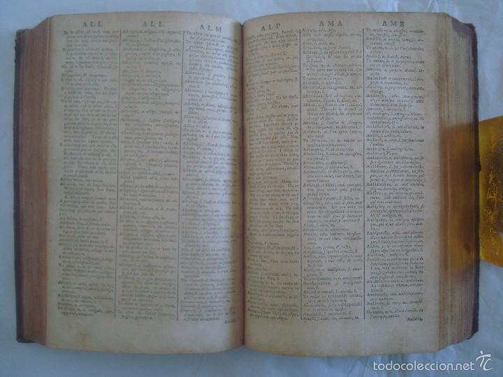 Diccionarios antiguos: BOYER ´S ROYAL DICTIONARY ABRIDGED. FRENCH AND ENGLISH. 1783. FOLIO MENOR - Foto 4 - 58814746