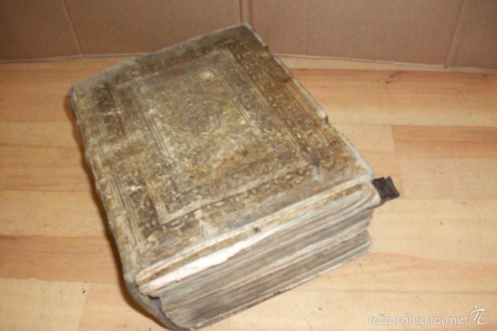 ANTIGUO DICCIONARIO EN ALEMAN-AÑO 1706 (Libros Antiguos, Raros y Curiosos - Diccionarios)