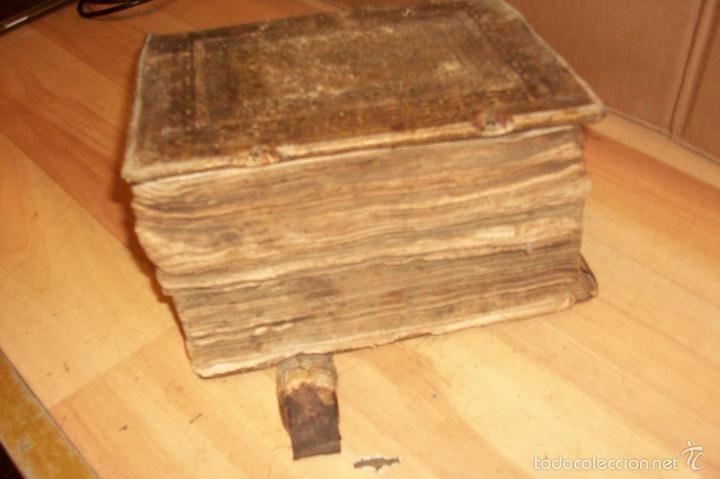 Diccionarios antiguos: ANTIGUO DICCIONARIO EN ALEMAN-AÑO 1706 - Foto 2 - 59865072