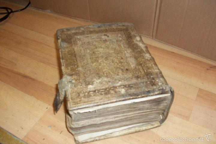 Diccionarios antiguos: ANTIGUO DICCIONARIO EN ALEMAN-AÑO 1706 - Foto 4 - 59865072