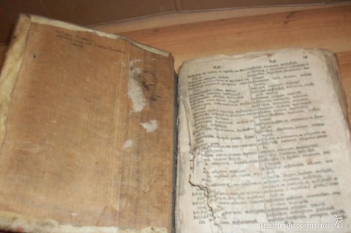 Diccionarios antiguos: ANTIGUO DICCIONARIO EN ALEMAN-AÑO 1706 - Foto 5 - 59865072