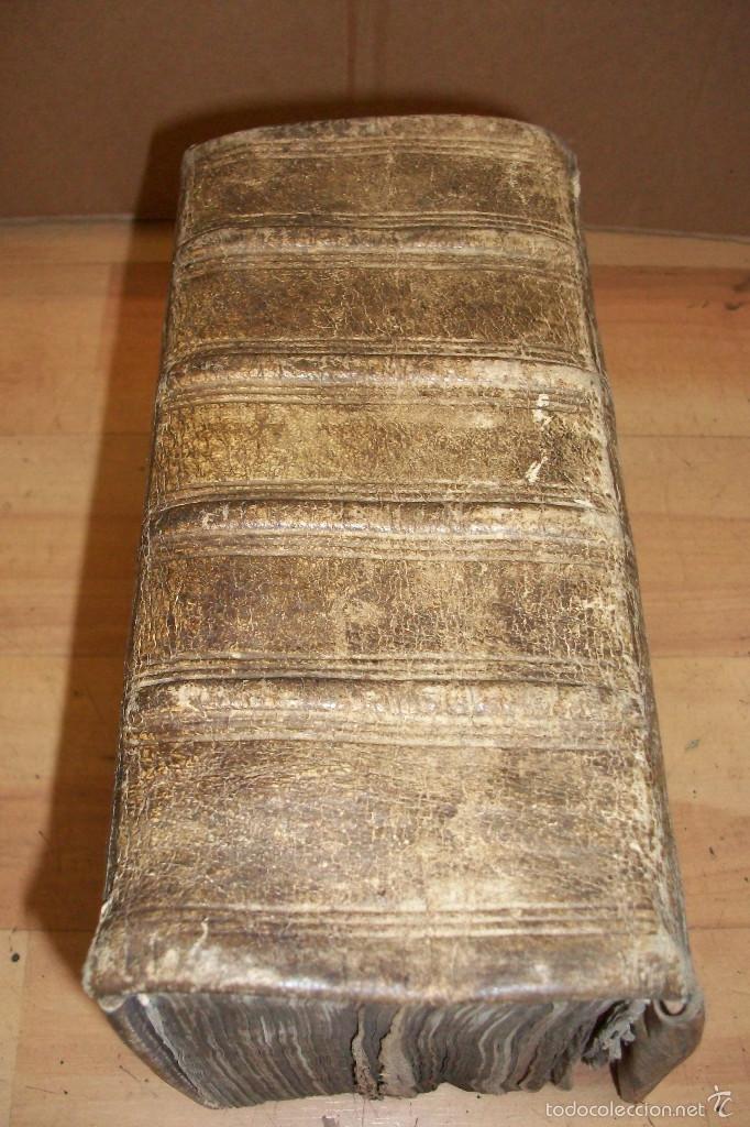 Diccionarios antiguos: ANTIGUO DICCIONARIO EN ALEMAN-AÑO 1706 - Foto 7 - 59865072