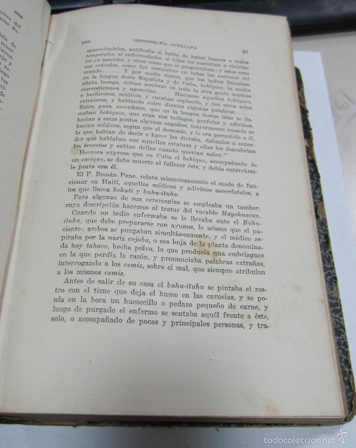 Diccionarios antiguos: LEXICOGRAFIA ANTILLANA. ALFREDO ZAYAS Y ALFONSO. HABANA, SIGLO XX. 1914. LEER. DEDICATORIA. VER - Foto 6 - 60410959