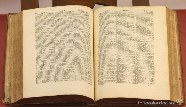 Diccionarios antiguos: 7954 - NOUVEAU DICTIONNAIRE FRANÇOIS-ESPAGNOL. TOMO II. SEJOURNANT. IMP. CHARLES-ANTOINE. 1775. - Foto 8 - 60581223