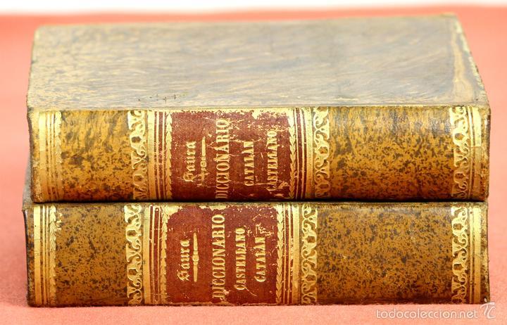 LP-292 - EDITOR ESTÉVAN PUJAL. 2 VOLÚMENES(VER DESCRIPCIÓN). 1870/1878. (Libros Antiguos, Raros y Curiosos - Diccionarios)