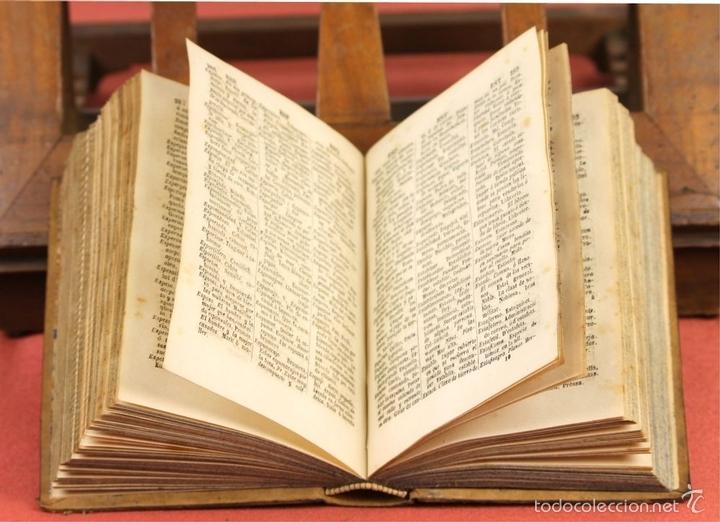 Diccionarios antiguos: LP-292 - EDITOR ESTÉVAN PUJAL. 2 VOLÚMENES(VER DESCRIPCIÓN). 1870/1878. - Foto 4 - 60760367