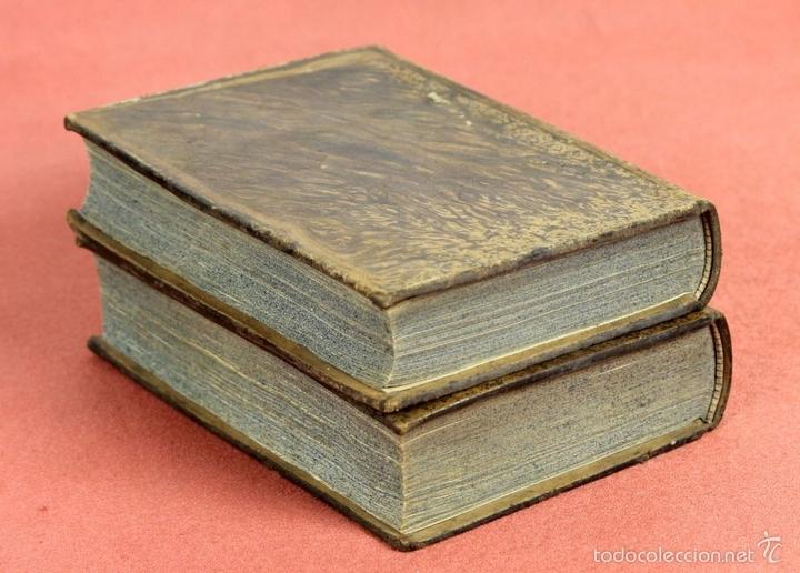 Diccionarios antiguos: LP-292 - EDITOR ESTÉVAN PUJAL. 2 VOLÚMENES(VER DESCRIPCIÓN). 1870/1878. - Foto 7 - 60760367