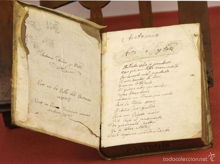 Diccionarios antiguos: 7966 - DICTIONARIUM MANUALE LATINO-HISPANUM. STEPHANO XIMENEZ. TIP. R. VERGES. 1827. - Foto 3 - 60850951