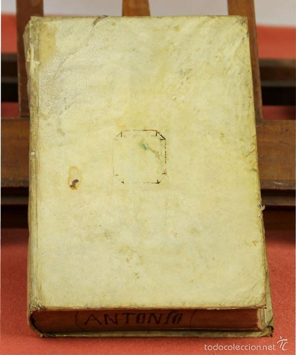 Diccionarios antiguos: 7966 - DICTIONARIUM MANUALE LATINO-HISPANUM. STEPHANO XIMENEZ. TIP. R. VERGES. 1827. - Foto 4 - 60850951