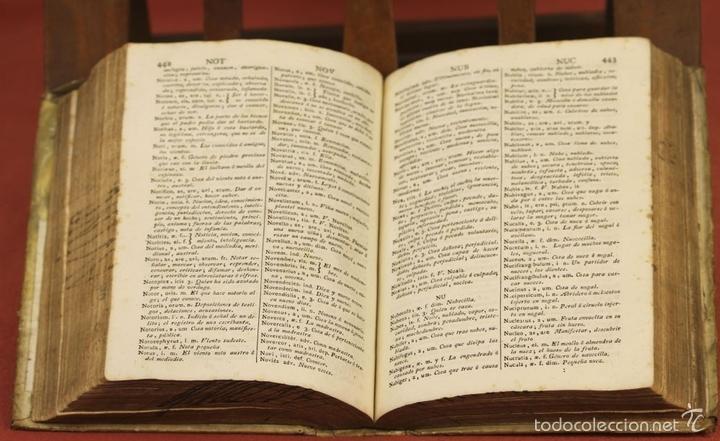 Diccionarios antiguos: 7966 - DICTIONARIUM MANUALE LATINO-HISPANUM. STEPHANO XIMENEZ. TIP. R. VERGES. 1827. - Foto 6 - 60850951
