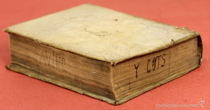 Diccionarios antiguos: 7966 - DICTIONARIUM MANUALE LATINO-HISPANUM. STEPHANO XIMENEZ. TIP. R. VERGES. 1827. - Foto 7 - 60850951
