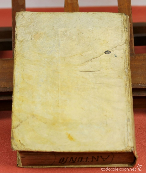 Diccionarios antiguos: 7966 - DICTIONARIUM MANUALE LATINO-HISPANUM. STEPHANO XIMENEZ. TIP. R. VERGES. 1827. - Foto 9 - 60850951