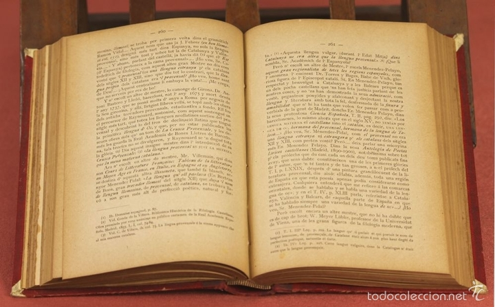 Diccionarios antiguos: 7980 - DICCIONARI DE LA LLENGUA CATALANA. TOMO I. A. Mª ALCOVER. EDIT. DE AMENGUAL Y MUNTANER. 1903. - Foto 4 - 61269951