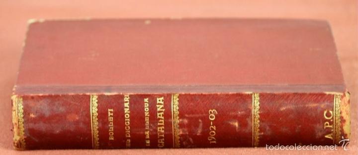 Diccionarios antiguos: 7980 - DICCIONARI DE LA LLENGUA CATALANA. TOMO I. A. Mª ALCOVER. EDIT. DE AMENGUAL Y MUNTANER. 1903. - Foto 7 - 61269951