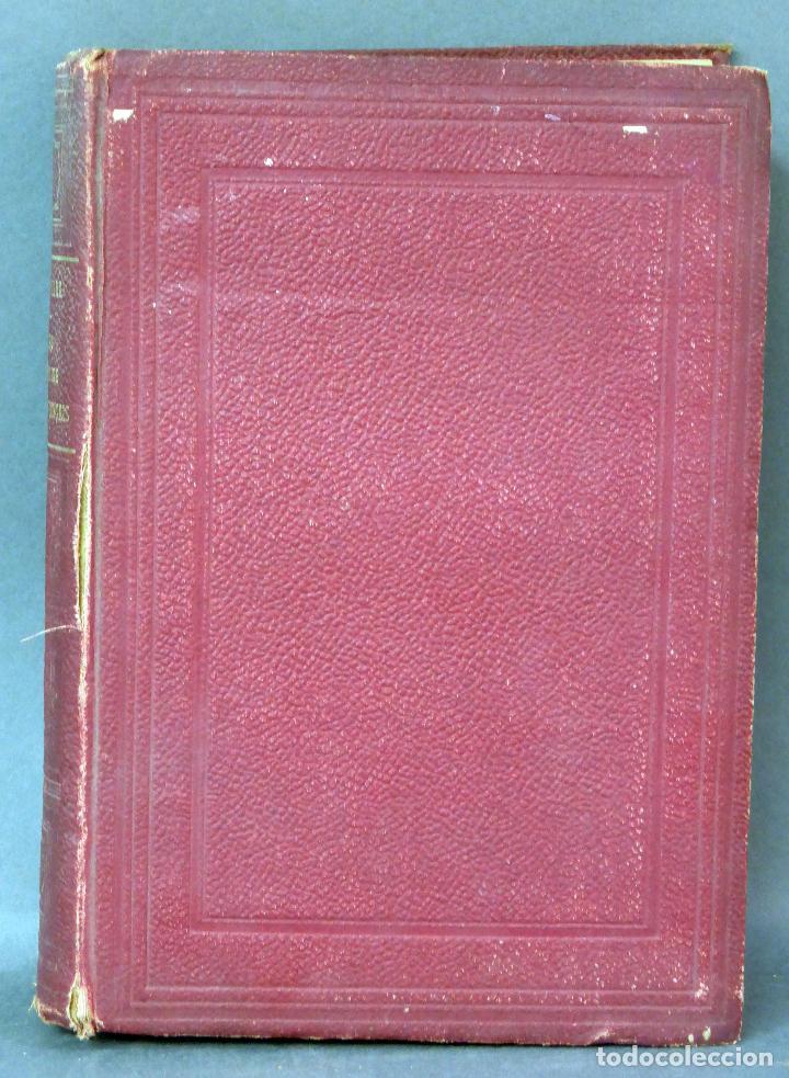 Diccionarios antiguos: Nouveau dictionnaire espagnol français Nuevo diccionario francés español Vicente Salva Garnier 1889 - Foto 2 - 62979428