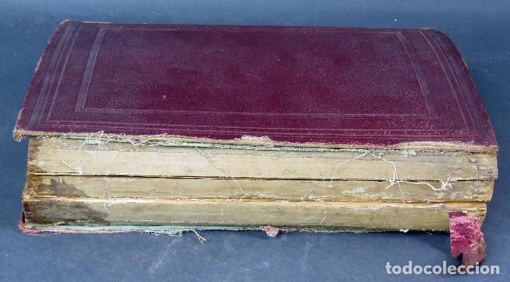 Diccionarios antiguos: Nouveau dictionnaire espagnol français Nuevo diccionario francés español Vicente Salva Garnier 1889 - Foto 6 - 62979428