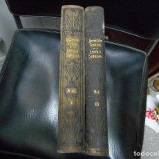 Diccionarios antiguos: DICCIONARIO GENERAL DE LA LENGUA CASTELLANA COMPLETO 2 TOMOS 1906 MUY BUEN ESTADO ILUSTRAD. Lote 63377680