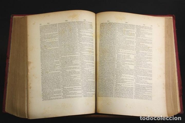 Diccionarios antiguos: 8110 - NOVISIMO DICCIONARIO DE LA LENGUA CASTELLANA. VV. AA. LIB. GANIER HERMANOS. 1891. - Foto 5 - 64025159
