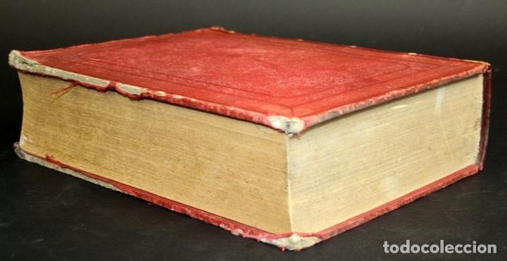 Diccionarios antiguos: 8110 - NOVISIMO DICCIONARIO DE LA LENGUA CASTELLANA. VV. AA. LIB. GANIER HERMANOS. 1891. - Foto 6 - 64025159