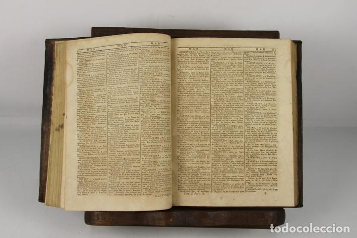 Diccionarios antiguos: 4888- SOBRINO AUMENTADO O NUEVO DICCIONARIO. FRANCISCO CORMON. EDIT. PIESTRE 1789. 3 VOL. - Foto 5 - 43907331