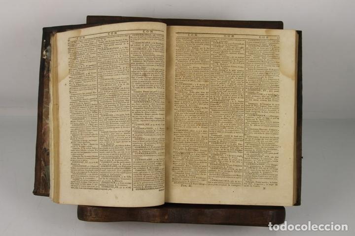 Diccionarios antiguos: 4888- SOBRINO AUMENTADO O NUEVO DICCIONARIO. FRANCISCO CORMON. EDIT. PIESTRE 1789. 3 VOL. - Foto 6 - 43907331