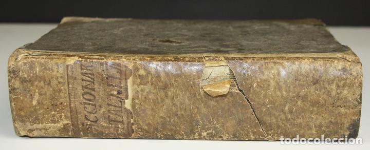 8173 - DICTIONARIUM SEU THESAURUS CATALANO-LATINUS. PETRO TORRA. EDIT. RAPHAELIS FIGUERÓ. 1710? (Libros Antiguos, Raros y Curiosos - Diccionarios)