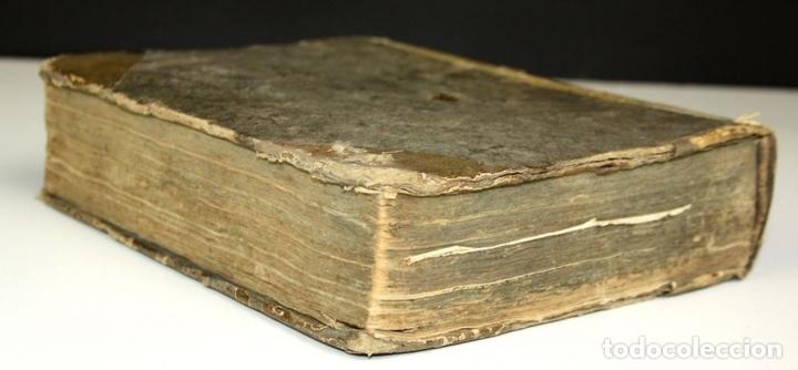 Diccionarios antiguos: 8173 - DICTIONARIUM SEU THESAURUS CATALANO-LATINUS. PETRO TORRA. EDIT. RAPHAELIS FIGUERÓ. 1710? - Foto 5 - 66741226