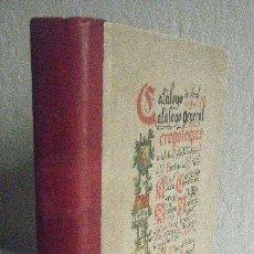 Diccionarios antiguos: SORARRAIN.- CATALOGO DE OBRAS EUSKARAS (1898, 1ª EDICIÓN). Lote 66840042