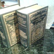 Diccionarios antiguos: ILUSTRADO DE LA LENGUA ESPAÑOLA 2O DE RAMÓN SOPENA EN BARCELONA 1931 CUARTA EDICIÓN. Lote 69998501