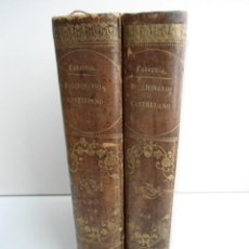 Diccionarios antiguos: NOVISIMO DICCIONARIO DE LA LENGUA CASTELLANA - CORRESPONDENCIA CATALANA 2V - D. PERE LABERNIA - 1866. Lote 70187305