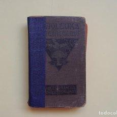 Diccionarios antiguos: LE BOUCHER: DICCIONARIO DE BOLSILLO FRANCÉS-ESPAÑOL (SCHÖNEBERG, 1913) 1ª ED. ORIGINAL COLECCIONISTA. Lote 70588317