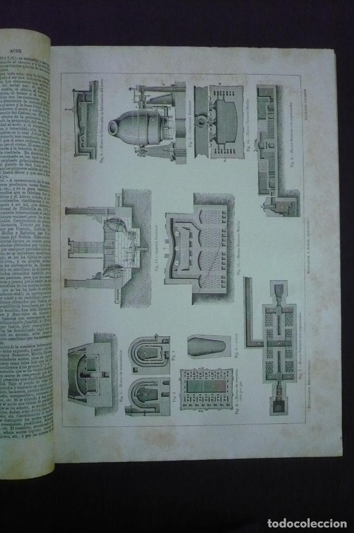 Old dictionaries: DICCIONARIO ENCICLOPÉDICO HISPANO-AMERICANO DE LITERATURA, CIENCIAS, ARTES, ETC. - Foto 2 - 71937354