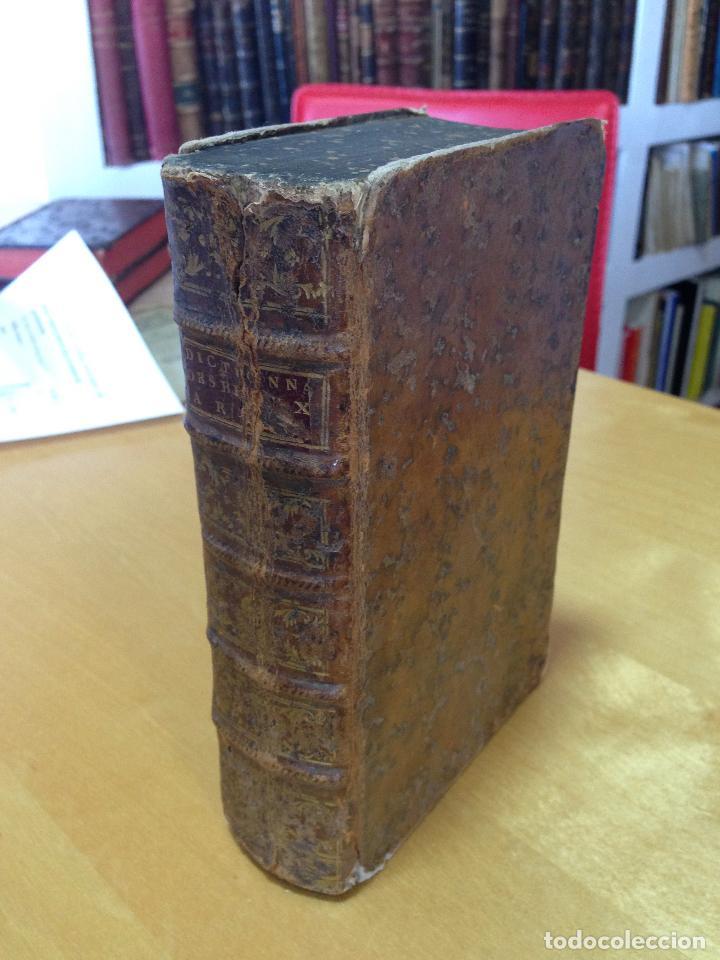 1759.- DICTIONNAIRE PORTATIF DES BEAUX-ARTS (Libros Antiguos, Raros y Curiosos - Diccionarios)