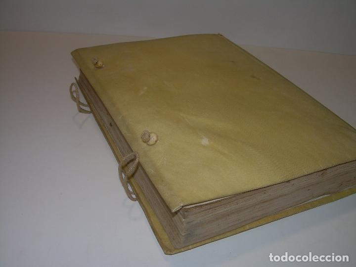 Diccionarios antiguos: LIBRO TAPAS DE PERGAMINO...THESAURUS HISPANO - LATINUS..AÑO 1.807...V.REQUEJO. - Foto 3 - 72817843