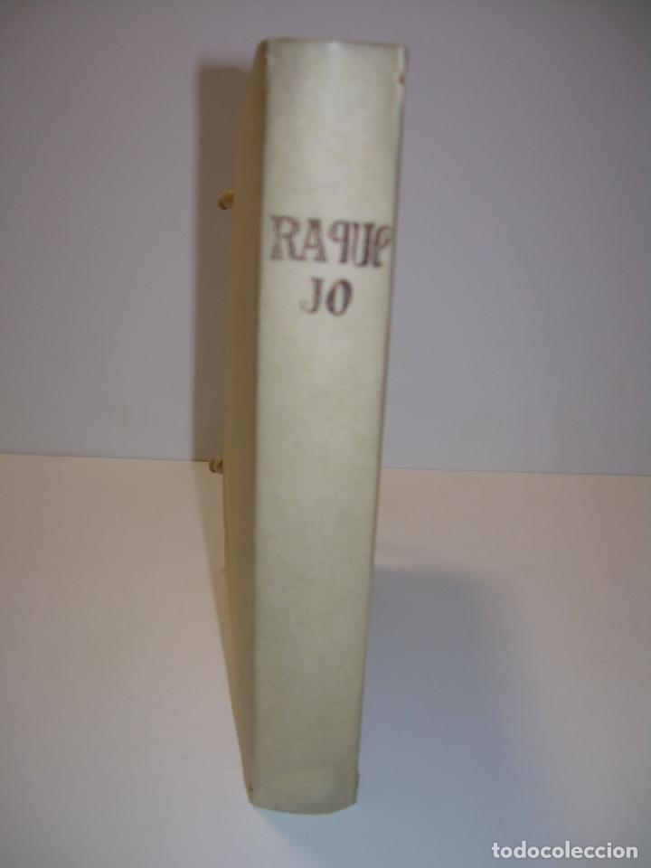 Diccionarios antiguos: LIBRO TAPAS DE PERGAMINO...THESAURUS HISPANO - LATINUS..AÑO 1.807...V.REQUEJO. - Foto 4 - 72817843