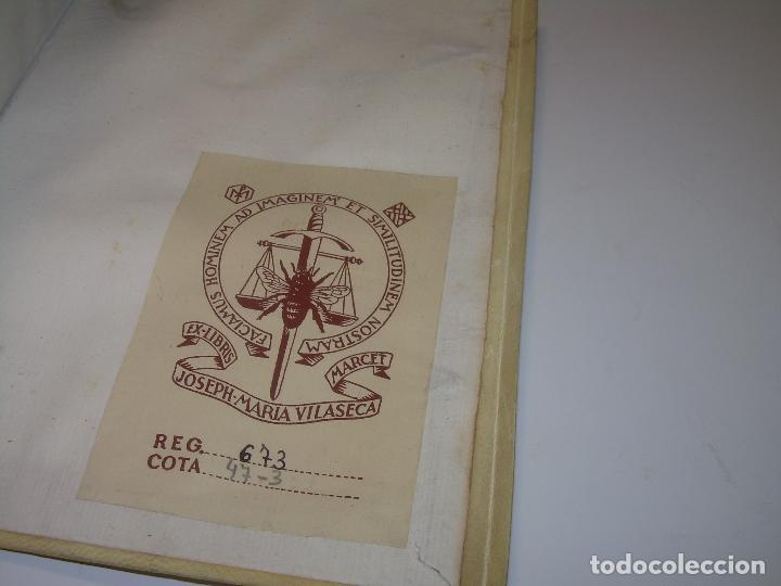 Diccionarios antiguos: LIBRO TAPAS DE PERGAMINO...THESAURUS HISPANO - LATINUS..AÑO 1.807...V.REQUEJO. - Foto 10 - 72817843