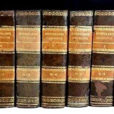 Diccionarios antiguos: 8308 - DICCIONARIO GEOGRÁFICO UNIVERSAL. 9 TOMOS(VER DESCRIP). VV. AA. IMP. J. TORNER. 1831/1834.. Lote 73014139