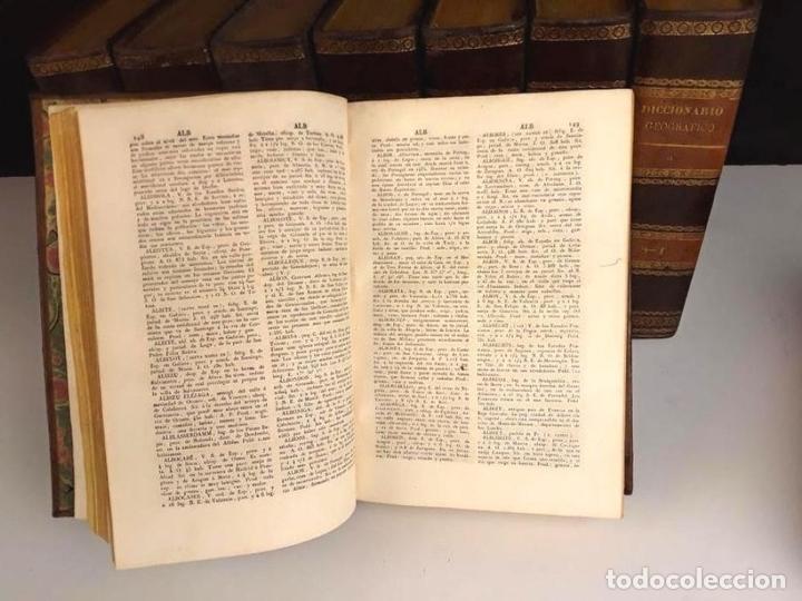 Diccionarios antiguos: 8308 - DICCIONARIO GEOGRÁFICO UNIVERSAL. 9 TOMOS(VER DESCRIP). VV. AA. IMP. J. TORNER. 1831/1834. - Foto 4 - 73014139