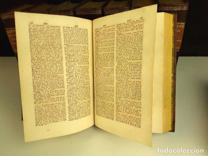 Diccionarios antiguos: 8308 - DICCIONARIO GEOGRÁFICO UNIVERSAL. 9 TOMOS(VER DESCRIP). VV. AA. IMP. J. TORNER. 1831/1834. - Foto 5 - 73014139