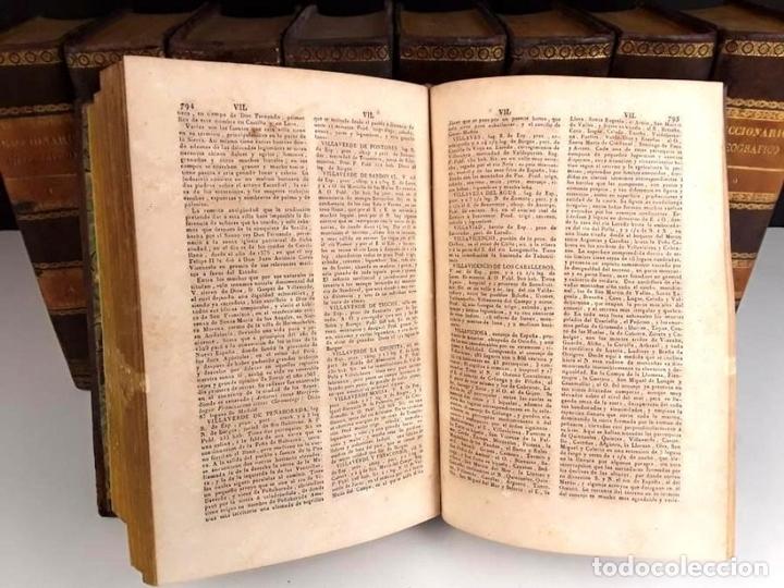 Diccionarios antiguos: 8308 - DICCIONARIO GEOGRÁFICO UNIVERSAL. 9 TOMOS(VER DESCRIP). VV. AA. IMP. J. TORNER. 1831/1834. - Foto 8 - 73014139