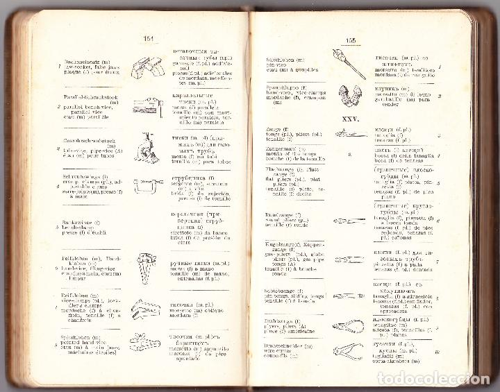 Diccionarios antiguos: TECNICO ILUSTRADO - ELEMENTOS MAQUINAS LABRAR MADERAS Y METALES TOMO I - 1906 - Foto 4 - 73622023