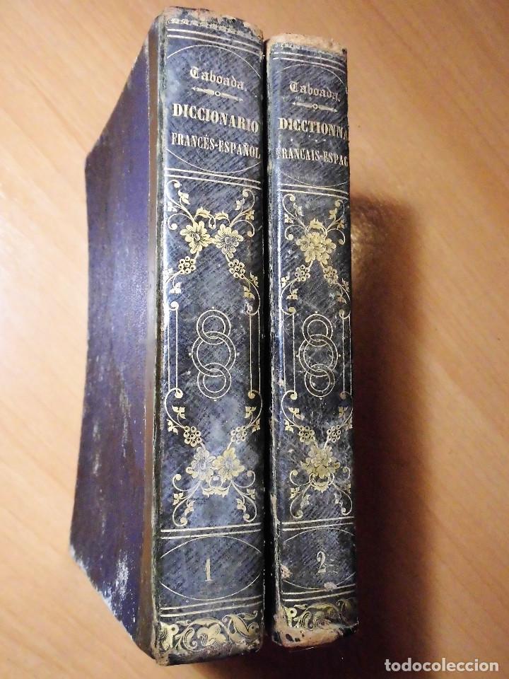 DICCIONARIO FRANCÉS-ESPAÑOL Y ESPAGNOL-FRANÇAIS. NUÑEZ DE TABOADA (BARCELONA, 1865) - LOS 2 TOMOS (Libros Antiguos, Raros y Curiosos - Diccionarios)