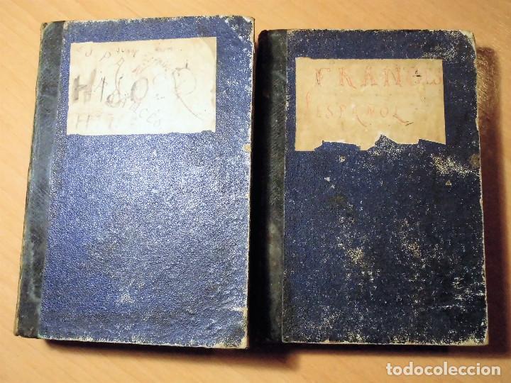 Diccionarios antiguos: DICCIONARIO FRANCÉS-ESPAÑOL Y ESPAGNOL-FRANÇAIS. NUÑEZ DE TABOADA (BARCELONA, 1865) - LOS 2 TOMOS - Foto 4 - 74352795